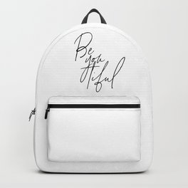 Beauiful Print, Gift for Girls, Girly Decor, Home Decor, Beyoutiful Backpack