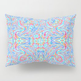 Psychedelic Pastels Pillow Sham