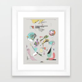 Data for the End Framed Art Print