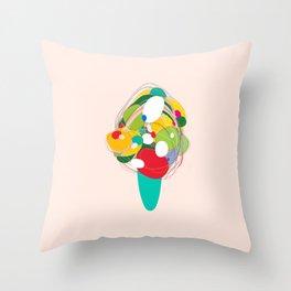 Dreaming of Icecream Throw Pillow