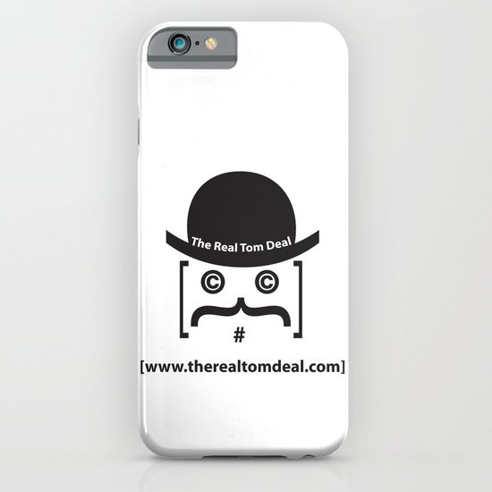 therealtomdeal logo iPhone & iPod Case