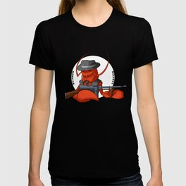 Mobster Lobster T-shirt