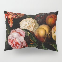 "Ernst Stuven ""Still-life with peaches"" Pillow Sham"