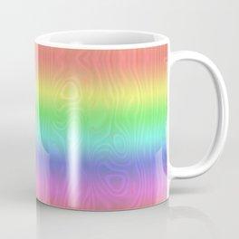 Groovy Pastel Rainbow Coffee Mug