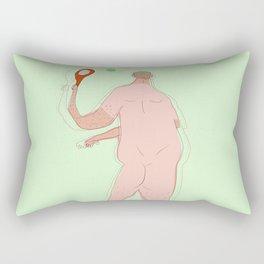 Backspin Rectangular Pillow