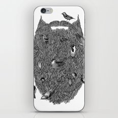Bird Beard iPhone & iPod Skin