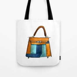 Blocked In Tote Bag