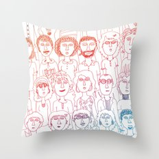 So Many People Throw Pillow