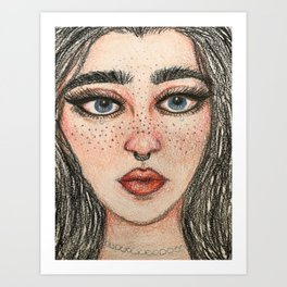 Piercing Art Print