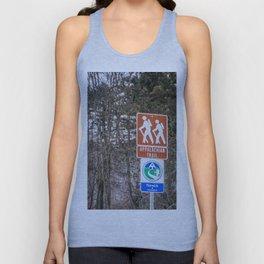 Walking the Appalachian Trail Unisex Tank Top