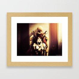 Serai - Father and Son Framed Art Print