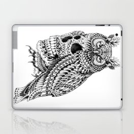 Great Horned Skull Laptop & iPad Skin