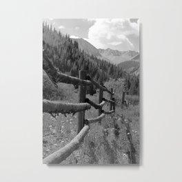 Rugged Trails Ahead Metal Print