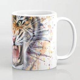 Tiger Watercolor Animal Painting Coffee Mug