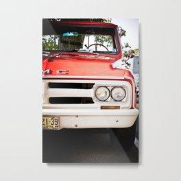 Antique GMC Truck Metal Print
