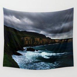 Irish Seascape Wall Tapestry