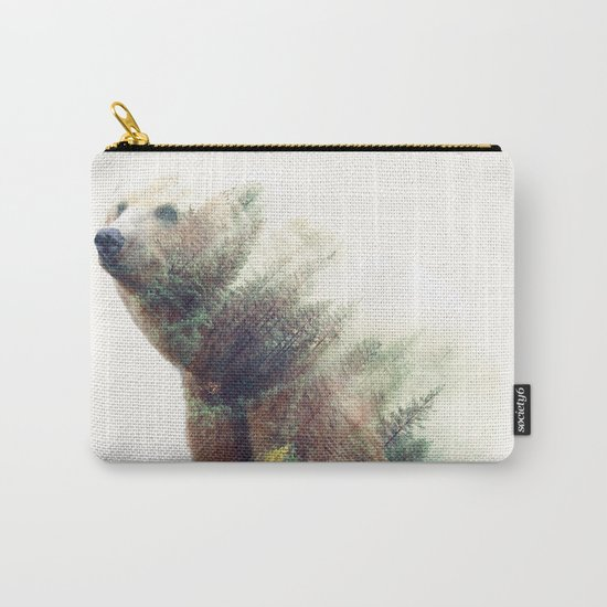 One With Nature V2 #society6 #buyart #decor Carry-All Pouch