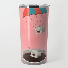 Cautious Sugar Cube Travel Mug