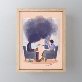 Therapy Framed Mini Art Print