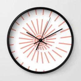 Sunshine XIV Wall Clock