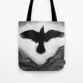 Flight of the Crow Tote Bag