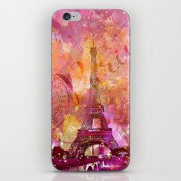 If you love Paris iPhone Skin