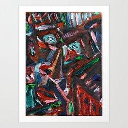 Deep Inside You Art Print