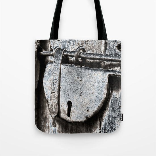 forever CLOSED - blue Tote Bag