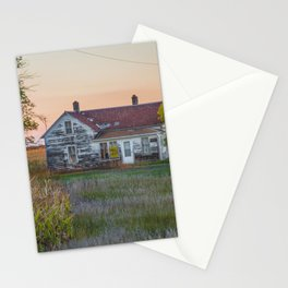 Curious Farmstead, North Dakota 4 Stationery Cards