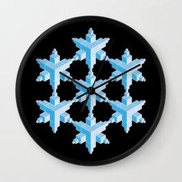 Glass House Wall Clock