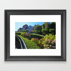 Lombard Street views  Framed Art Print