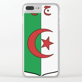 Coat Of Arms Of Algeria_Country_History_(1962-1971) Clear iPhone Case