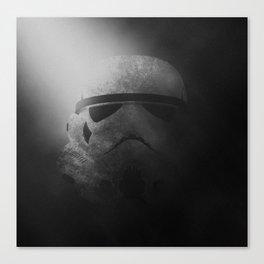 Dark Storm Trooper Canvas Print