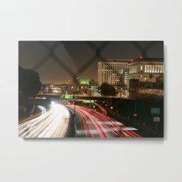 Visualize (LA) Metal Print