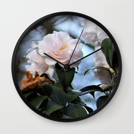 Flower No 3 Wall Clock