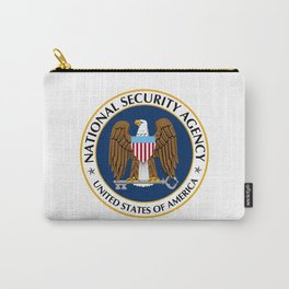 National Security Agency Crest Carry-All Pouch