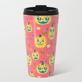 Tropical Cat o' Lanterns Travel Mug