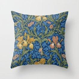 William Morris Flowers Throw Pillow