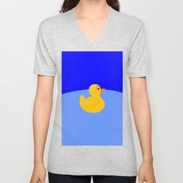 Rubber Duck Unisex V-Neck