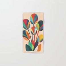 Ikebana - Geometric flower Hand & Bath Towel