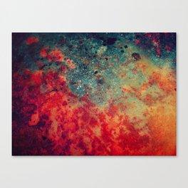 Shores of Saturn Canvas Print