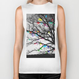 The Wishing Tree II, Color Bleed Biker Tank