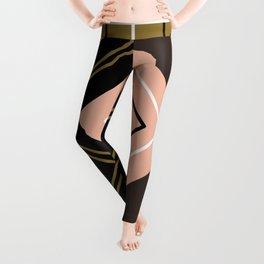 Grid Pattern Leggings