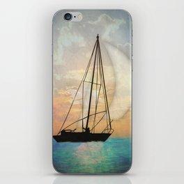 Sail Away With Me iPhone Skin