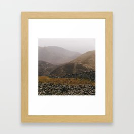 The Mourne Wall 2 Framed Art Print