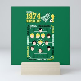 Where It All Began 1974 Chile v Australia Mini Art Print