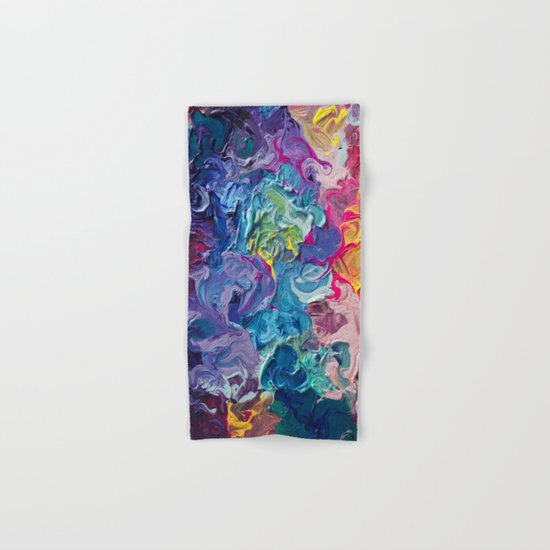 Aurora Swirls Hand & Bath Towel
