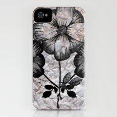 Flowers Slim Case iPhone (4, 4s)