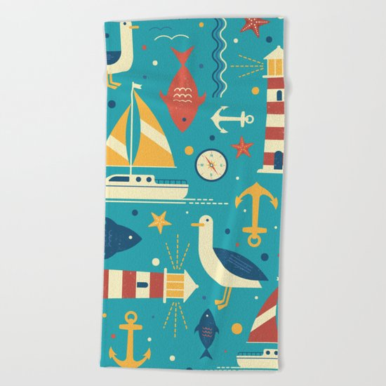 All At Sea Beach Towel