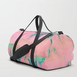 I See Beauty - Malachite Marble Duffle Bag